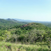 Historic Santa Marta mine from about 200 m north-northeast